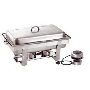 Chafing Dish GN 1/1 avec Plaque Chauffante Electrique