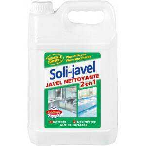 Solijavel eau de javel nettoyante de 5 litres Solipro - 1