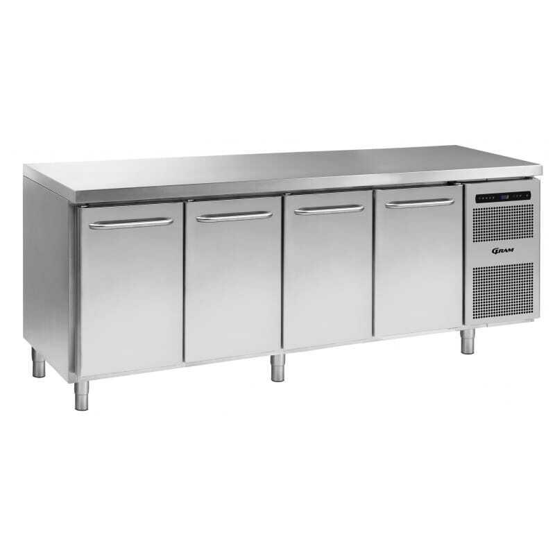 Table réfrigérée GN1/1 négative 4 portes