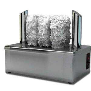 Machine à essuyer & polir les verres FourniResto - 1