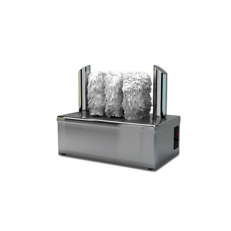 Machine à essuyer & polir les verres