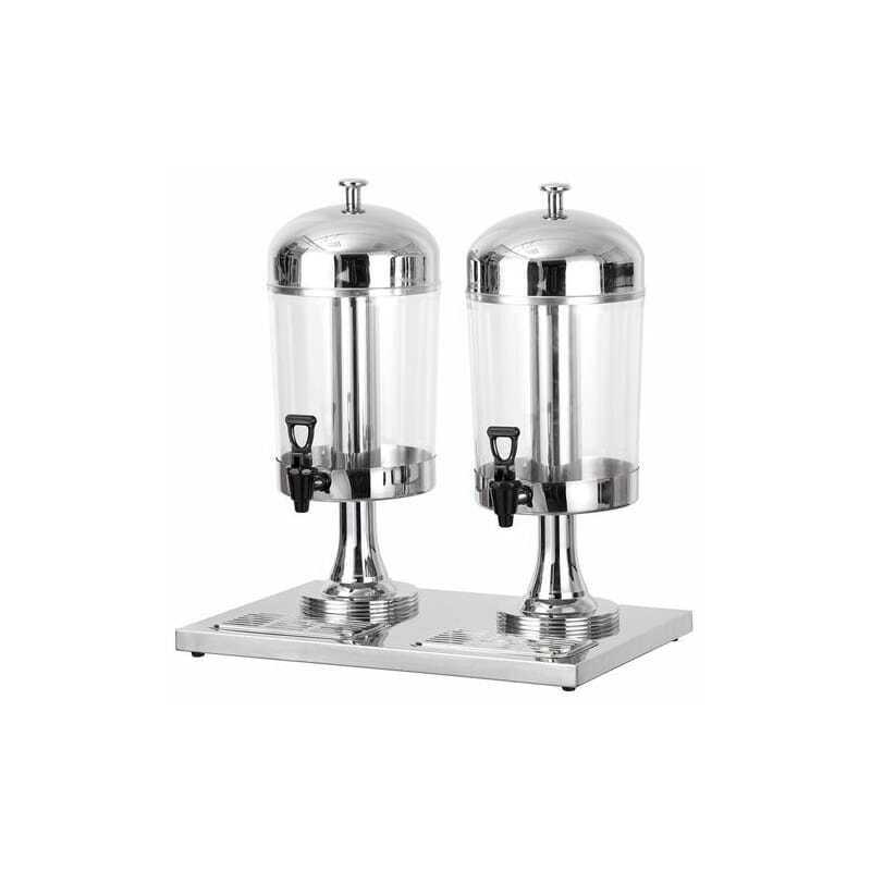 Distributeur de Jus Double Non Réfrigéré : 2 x 8 L Atosa - 1