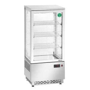 Mini Vitrine Réfrigérée - 78 L Inox Bartscher - 1