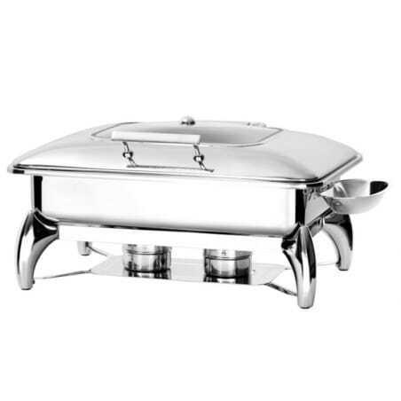 Chafing Dish à induction GN1/1 avec Couvercle Vitré - Atosa FourniResto - 1