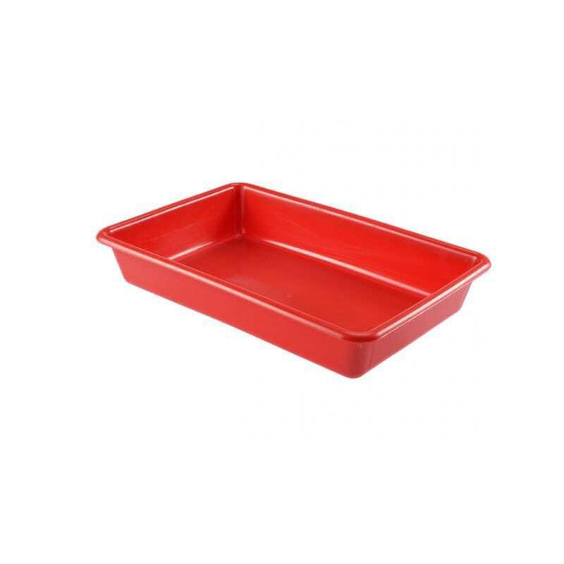 Bac Plat 3L Rouge