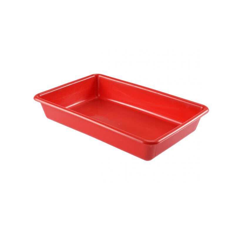 Bac Plat 5L Rouge