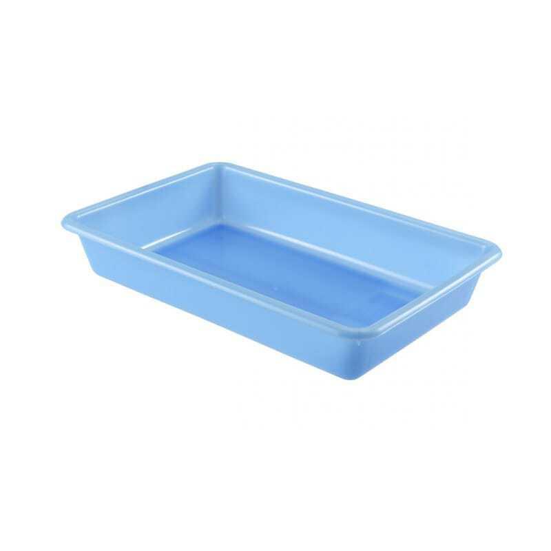 Bac Plat 8L Bleu