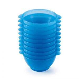 Bols A Anses 50 Cl Bleu Lot De 10 Gilac - 1