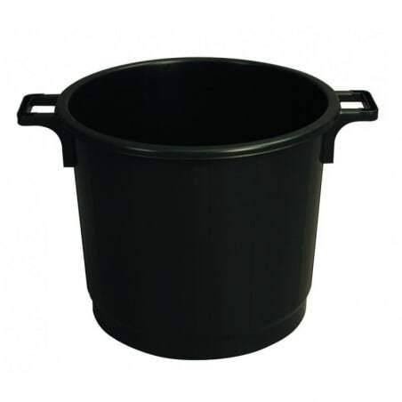 Poubelle Economique 75 Noir Gilac - 1