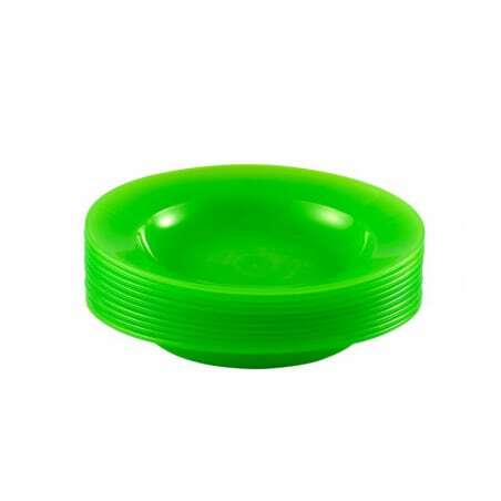 Lot De 10 Assiettes Vertes Gilac - 1