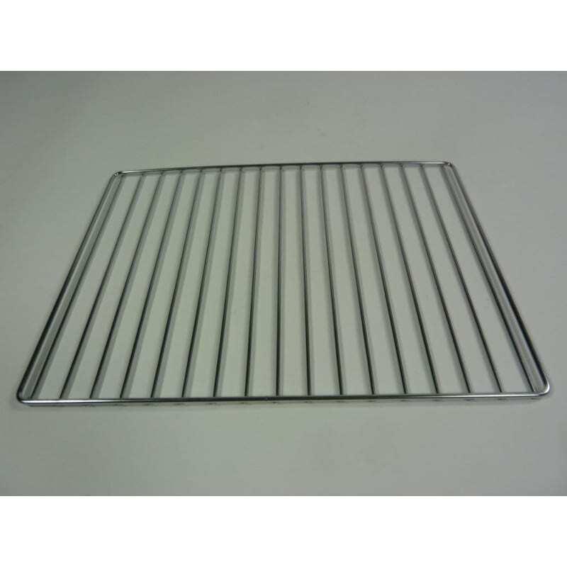 Grille en acier chromé 442 x 325 mm