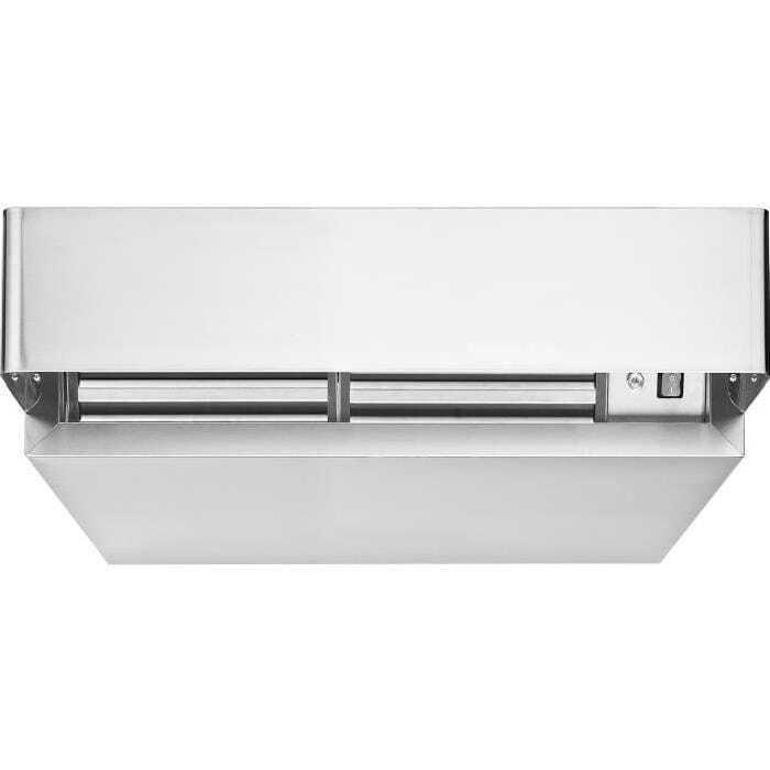 Hotte condensation en inox pour four professionnel for Plaque inox pour hotte
