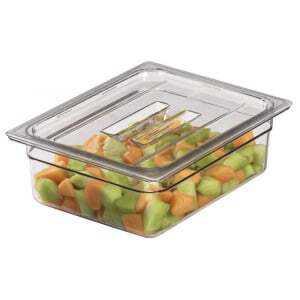 Couvercle à poignée pour bacs gastronormes Transparent Camview™sans BPA - Lot de 6 Cambro - 1