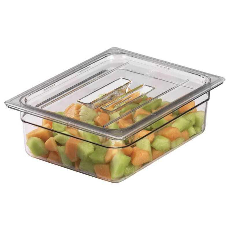 Couvercle à poignée pour bacs gastronormes Transparent Camview™sans BPA - Lot de 6