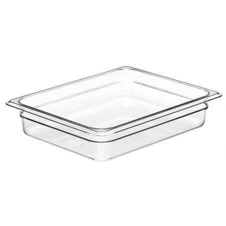 Bacs gastronormes en polycarbonate et en Camview GN1/2 - Lot de 6 Cambro - 1
