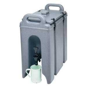 Conteneur isotherme à boissons à 4 fermetures Cambro - 1