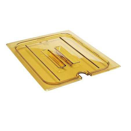 Couvercle à encoche et poignée pour bacs gastronormes H-Pans - Lot de 6 Cambro - 2