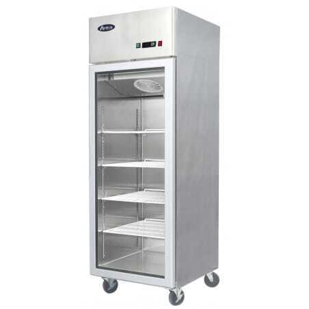Armoire Vitrée Réfrigérée 670 Litres - Positive FourniResto - 1
