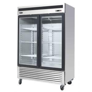Armoire Vitrée Réfrigérée 1300 Litres - Négative Atosa - 1