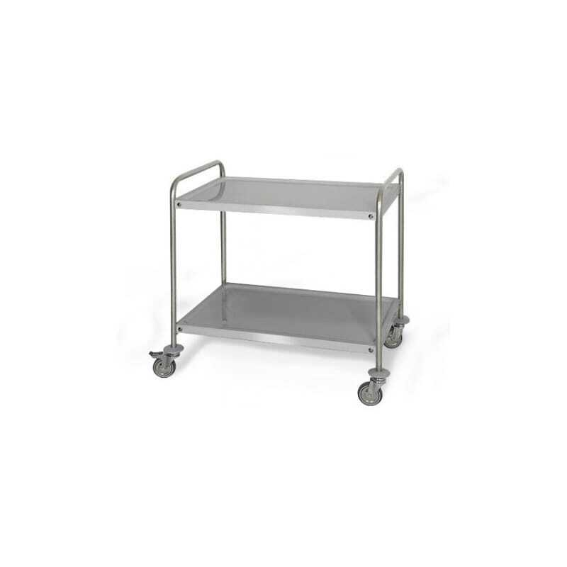 Chariot 2 Plateaux - Profondeur 500 mm