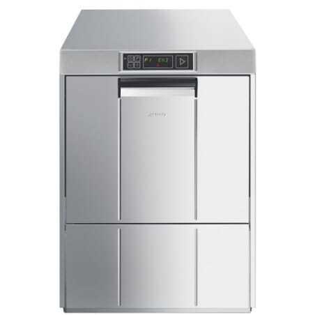 Lave Vaisselle Professionnel Easyline électronique 50x50 - Grande Hauteur de Verre SMEG - 1