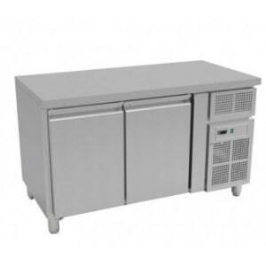 Table Réfrigérée Négative GN1/1 Prof 700 - 2 Portes FourniResto - 1