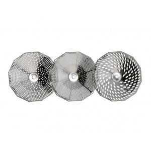 Grille de diamètre 2,5 mm pour moulin n°3 Tellier - 1