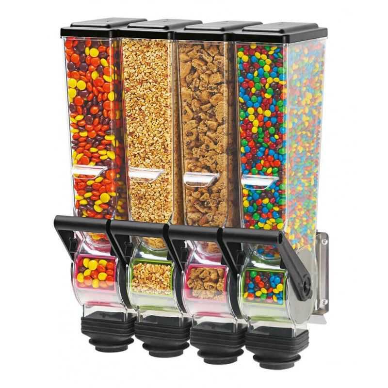Distributeur d'Aliments Secs 2 X 2 L