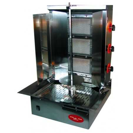 Broche Kebab à Gaz - 25 kg MultiGroup - 1