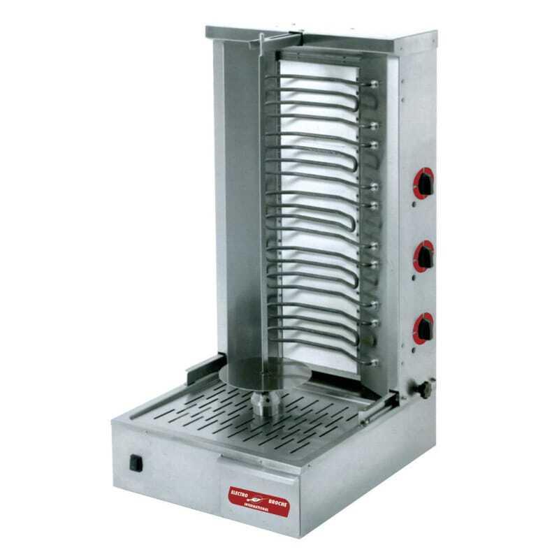 Broche kebab Électrique - 40 kg Multigroup DKE080