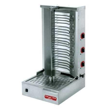 Broche Kebab Électrique - 40 kg MultiGroup - 1