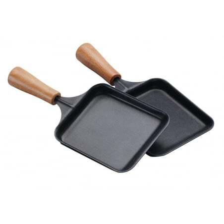 Poêlon Rectangulaire Bois pour Raclette Tellier - 1