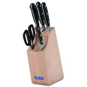Bloc 4 couteaux et ciseaux Riviera Arcos - 1