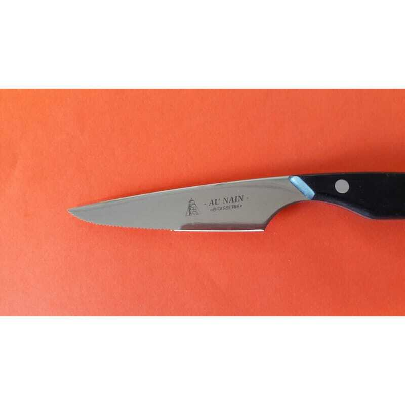 Couteau à steak Brasserie lame microdentée - 11 cm