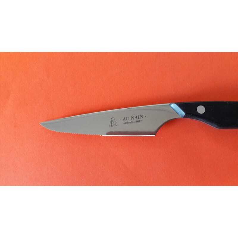 Lot de 12 Couteaux à steak Brasserie lame microdentée - 11 cm