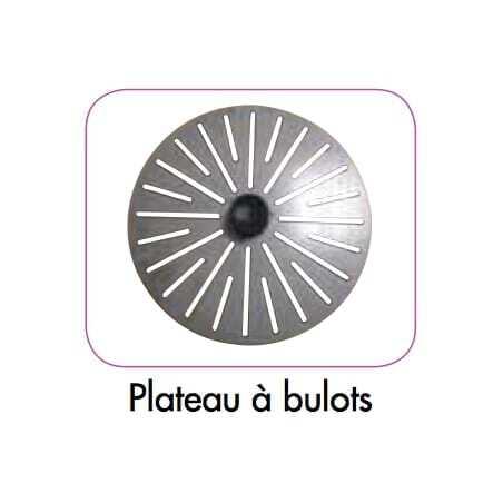 Plateau tout Inox Spécial Bulots pour Eplucheuse Robot-Coupe - 1