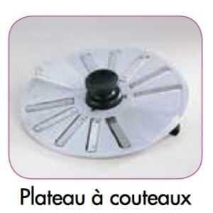 Plateau à Couteaux pour Eplucheuse Robot-Coupe - 1