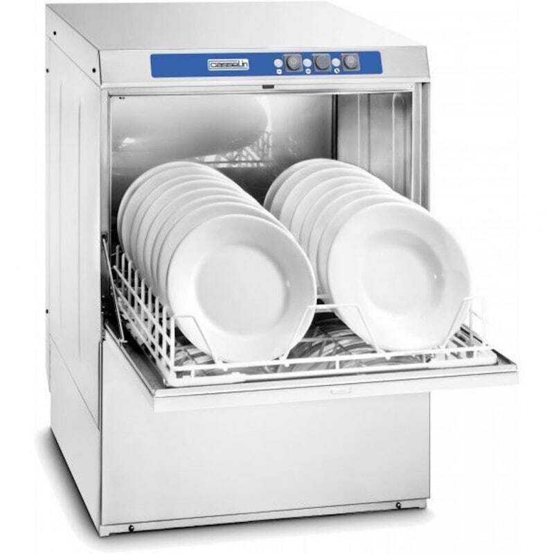 Lave Vaisselle Professionnel 500 Adoucisseur et Pompe de Vidange