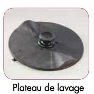 Plateau Lavage pour Eplucheuse