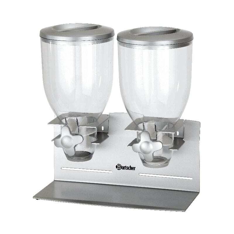 Distributeur de Céréales Double - 7 Litres