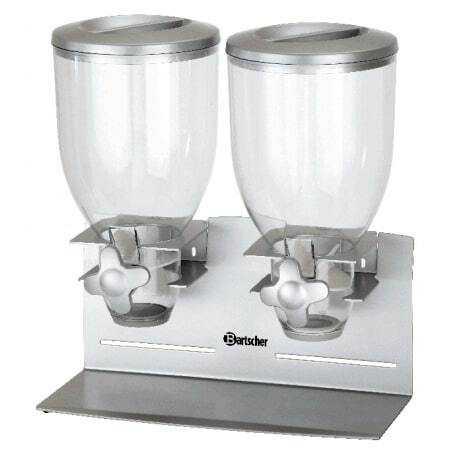 Distributeur de Céréales Double - 7 Litres Bartscher - 1