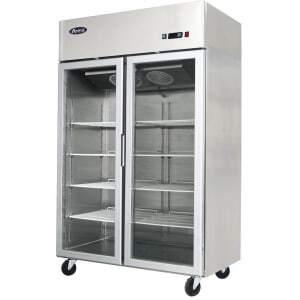 Armoire Vitrée Réfrigérée 1300 Litres - Positive Atosa - 1