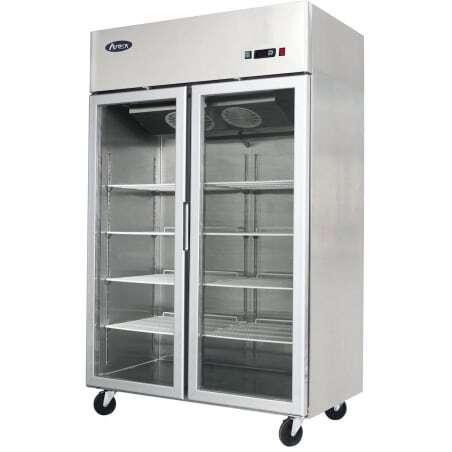 Armoire Vitrée Réfrigérée 1240 Litres - Positive FourniResto - 1