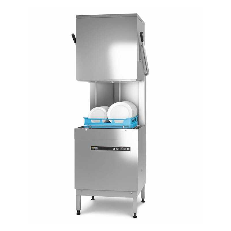Lave Vaisselle à Capot avec Pompe de Rinçage et Pompe de Vidange Ecomax by Hobart - 1