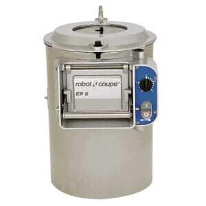 Eplucheuse Professionnelle Combinée Inox - 5 Kg