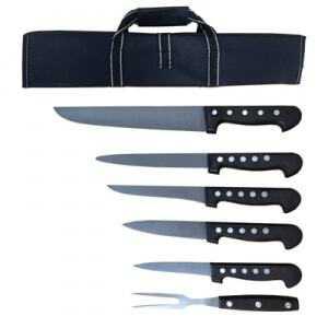 Mallette de Couteaux pour Boucherie - 7 Pièces