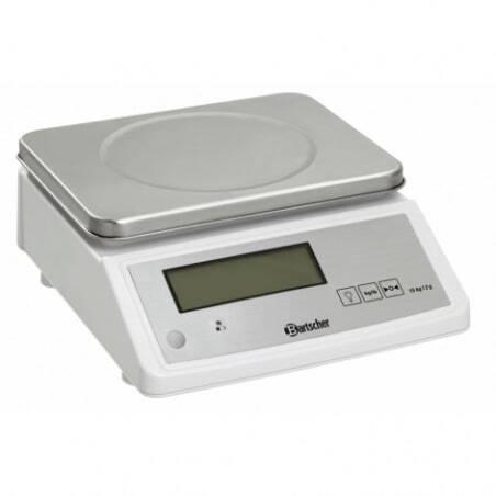 Balance de Cuisine Electronique Portée 15 Kg Bartscher - 1