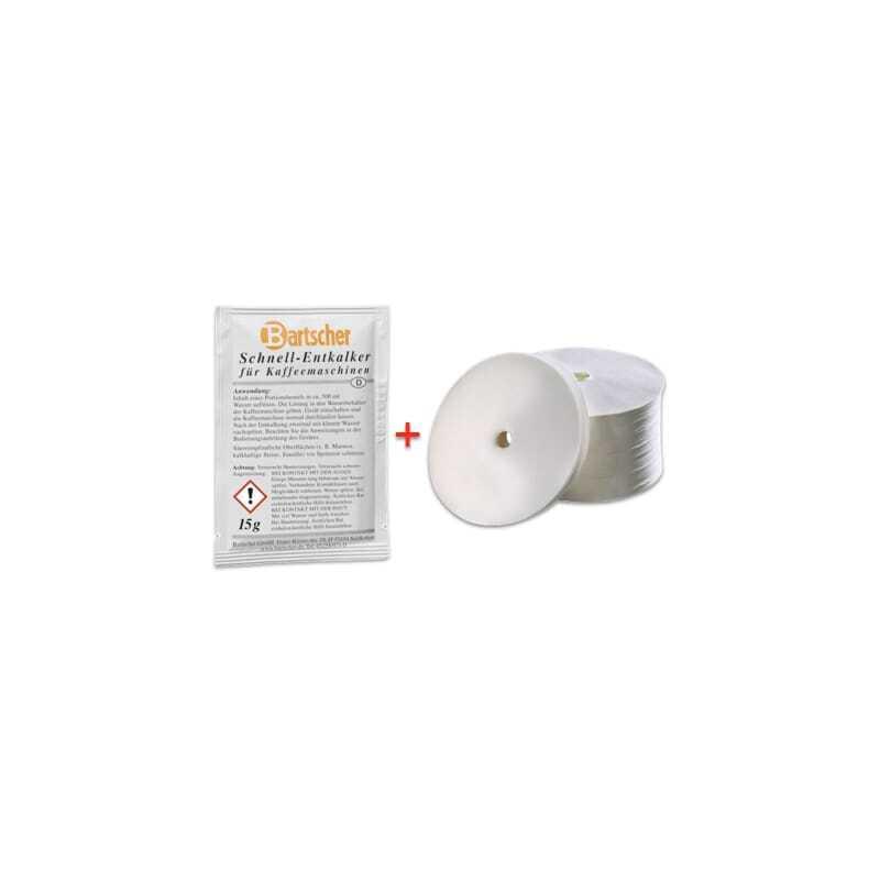 Pack détartrant et filtres Percolateur Regina 90 et Pro 100T Bartscher - 1