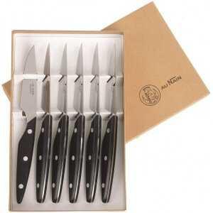 Coffret de 6 Couteaux de Table Brasserie Au Nain - 1