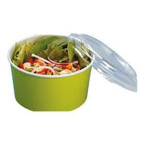Couvercle pour Boîte à Salade - 60 cl - Lot de 720 FourniResto - 2